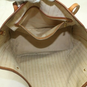 Louis Vuitton Damier Azur Neverfull MM Tote 860609