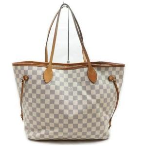 Louis Vuitton Damier Azur Neverfull MM Tote 861154
