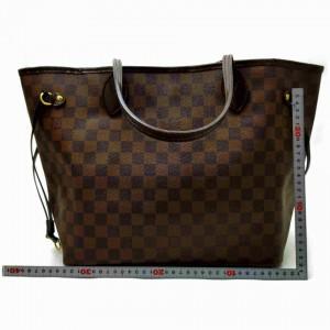 Louis Vuitton Damier Ebene Neverfull MM Tote 860961