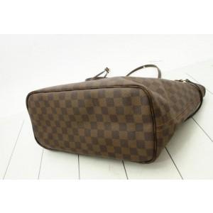 Louis Vuitton Damier Ebene Neverfull MM Tote 861372