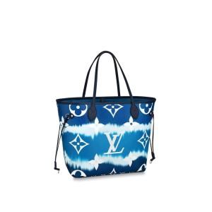 Louis Vuitton Escale Neverfull MM Blue Tye Dye Limited 11lv617