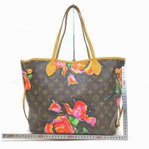 Louis Vuitton Stephen Sprouse Monogram Roses Neverfull MM Flowers Graffiti 857246