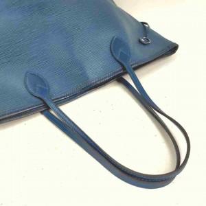 Louis Vuitton Blue Epi Leather Neverfull MM  860243