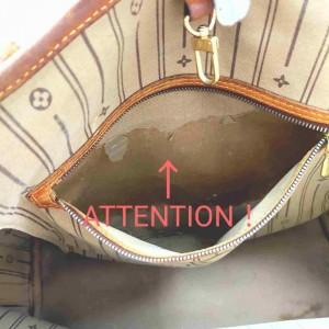 Louis Vuitton Monogram Neverfull MM Tote 861309