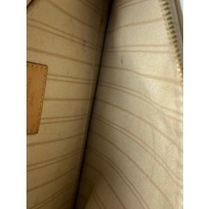 Louis Vuitton Damier Azur Neverfull Pochette Wristlet 10la527