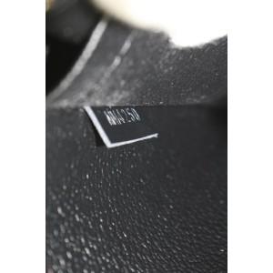 Louis Vuitton LVxUF Urs Fischer Black Monogram Leather Neverfull Pochette Bag 9lvs16