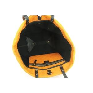 Louis Vuitton Neverfull Scuba Monogram 1lk0103 Orange Neoprene Shoulder Bag