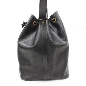Louis Vuitton Black Epi Noir Petit Noe 868122