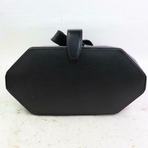 Louis Vuitton Noir Sac A Dos Sling Backpack872377 Black Epi Leather Hobo Bag