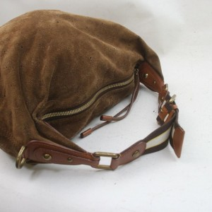 Louis Vuitton Brown Suede Onatah GM Hobo Bag 863029
