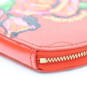 Louis Vuitton Porto Monet Chapeau Roses Sprouse Vernis Monogram Pink Rose Pop 872613