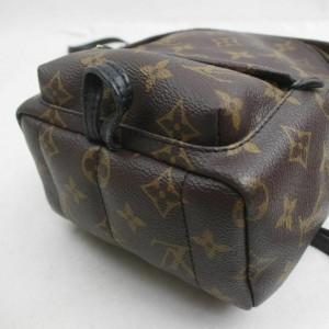 Louis Vuitton Monogram Palm Springs Mini Backpack 860930