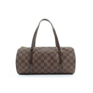 Louis Vuitton Damier Ebene Papillon 30 Boston Satchel 862947