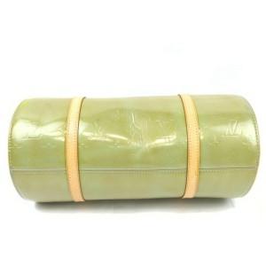 Louis Vuitton Green Monogram Vernis Bedford Papillon Barrely Cyllinder Bag 861778