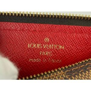Louis Vuitton Damier Ebene Papillon Mini Wristlet Pouch Bag