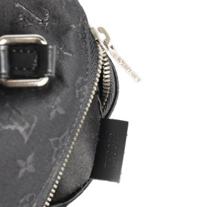 Louis Vuitton Limited Edition Nano Papillon Mini Black Monogram Shine Satin 211319