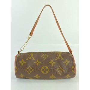 Louis Vuitton Mini Monogram Papillon Wristlet Bag 24L858