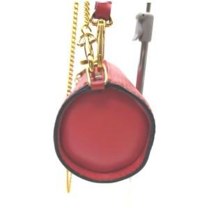 Louis Vuitton Red Epi Leather Mini Soufflot 2way Papillon Wristlet Bag 862500