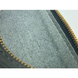 Louis Vuitton Black Epi Leather Mini Soufflot  Papillon Wristlet 14LVA1116