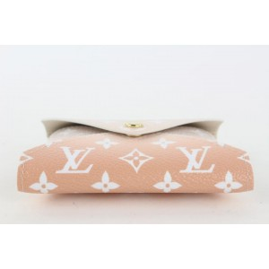 Louis Vuitton Peach Mist Monogram By the Pool Kirigami PM Envelope Pouch 20lvs421