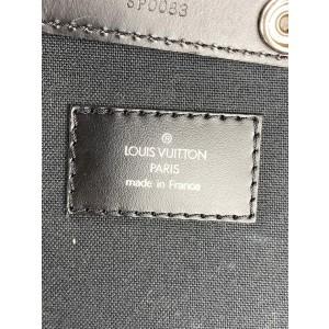Louis Vuitton Black Taiga Leather Pegase 55 Rolling Luggage Trolley Suitcase 1117LVA