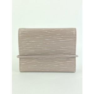 Louis Vuitton Lilac Pepper Epi Leather Porte Monnaie Elastique Trifold Wallet 48lva1