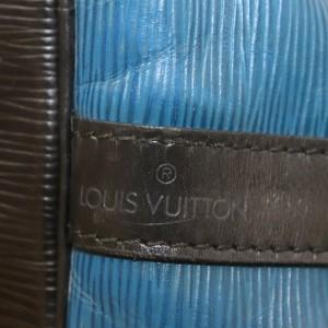 Louis Vuitton Louis Vuitton Shoulder Bag Petit Noe Blue Epi 862495