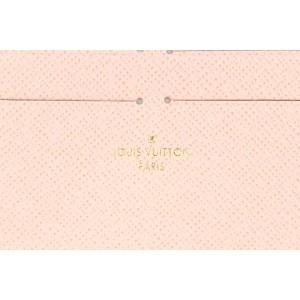 Louis Vuitton Pink Leather Felicie Insert Card Holder  9LVL859