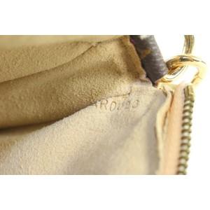 Louis Vuitton Monogram Cherry Blossom Pochette Accessoires Wristlet Pouch Bag 199lvs