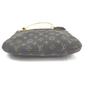 Louis Vuitton Brown Monogram Mini Lin Pochette Accessoires Wristlet 861608