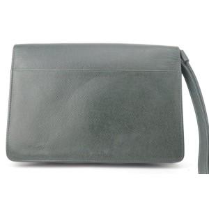 Louis Vuitton Green Taiga Pochette Belaia 8LK1129