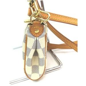 Louis Vuitton Damier Azur Pochette Eva Crossbody 2way Bag 863189