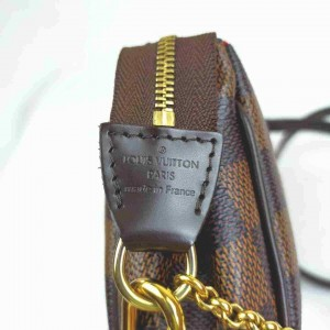 Louis Vuitton Damier Ebene Pochette Eva Crossbody 860809