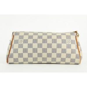 Louis Vuitton Damier Azur Pochette Eva 2way Bag 861366