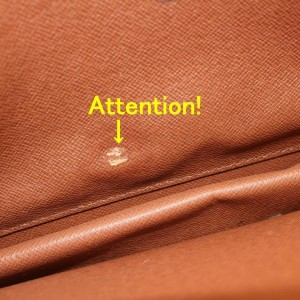 Louis Vuitton  Brown Epi Pochette Homme Clutch 8681129