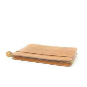Louis Vuitton Brown Epi Leather Pochette Homme Envelope Clutch 7LV910