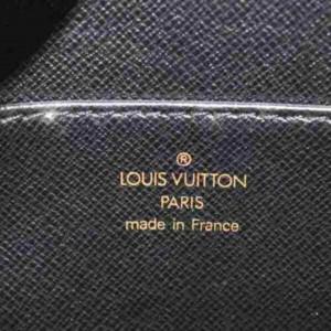 Louis Vuitton Black Epi Noir Pochette Homme Clutch 872921