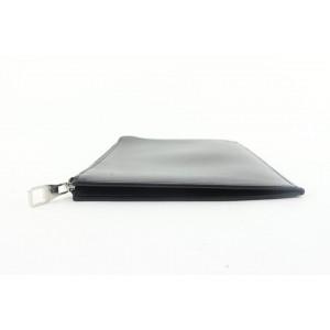 Louis Vuitton Black Nomade Leather Pochette Jour PM Porte Documents Case 331lvs519