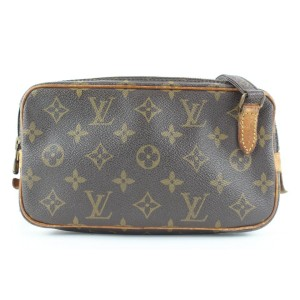 Louis Vuitton Monogram Pochette Marly Bandouliere Crossbody Bag 659lvs317