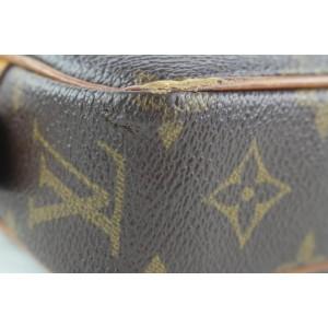 Louis Vuitton Monogram Pochette Marly Bandouliere Crossbody 660lvs317