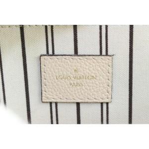 Louis Vuitton Netural Monogram Empreinte Leather Pochette Metis Crossbody Bag 886lvs