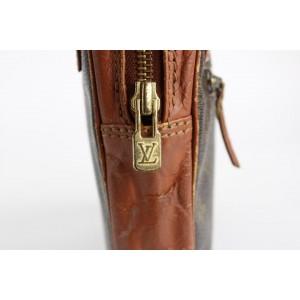 Louis Vuitton Monogram Pochette Dragonne Wristlet Bag 22lvs1215