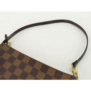 Louis Vuitton Damier Ebene Navona Pochette Accessories Wristlet 860650