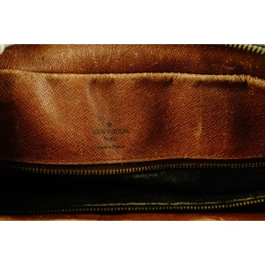 Louis Vuitton Monogram Porte Documents Voyage Briefcase Attache 785lvs42