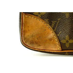 Louis Vuitton Monogram Porte Doucuments Voyage Attache Briefcase 783lvs41