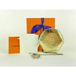 Louis Vuitton Gold Vernis Snowflake Porte Monnaie Flocon Coin Purse 13lv122