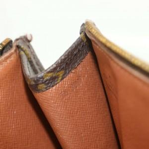 Louis Vuitton Poche Documents Monogram Portfolio Zip Folder 872474