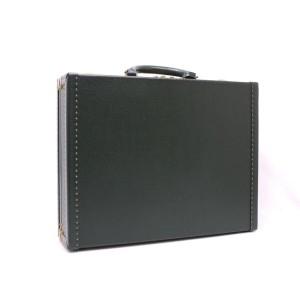 Louis Vuitton Green Taiga Leather President Attache Briefcase 3lva121