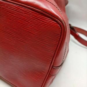 Louis Vuitton Red Epi Leather Noe GM Drawstring Bucket hobo Bag 863261