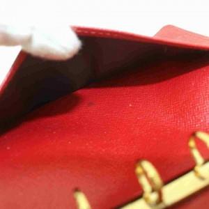 Louis Vuitton Agenda Elise Compact Wallet Wholesale Bundle Set Red x Black 860238